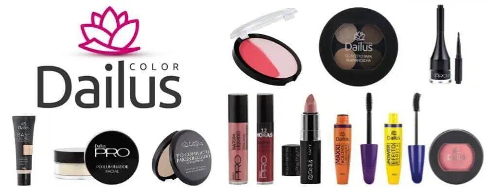 Dailus está entre as melhores marcas de maquiagem