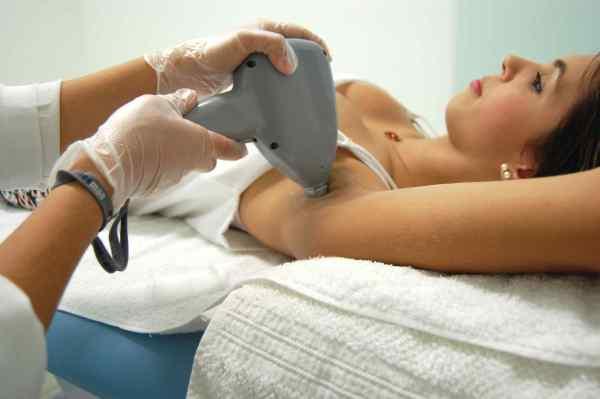 sensibilidade na depilação definitiva