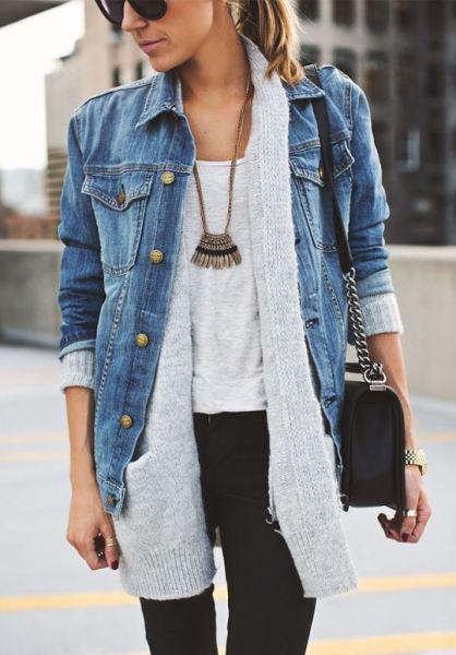 Jaqueta jeans é uma das tendências para o inverno 2015