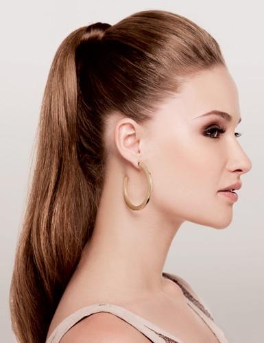 rabo de cavalo é um dos penteados fáceis para cabelos longos