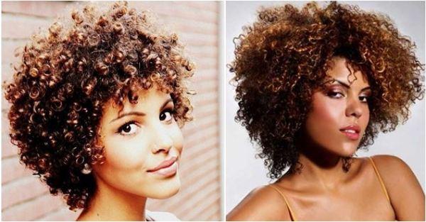 cabelos crespos no estilo black power com menos volume