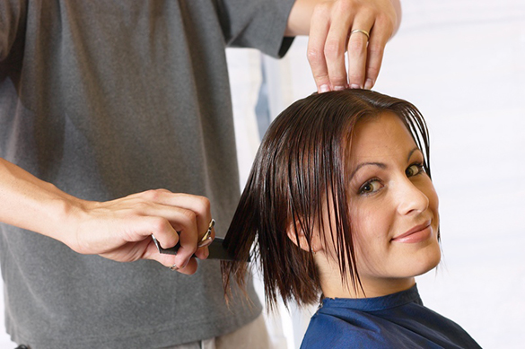 corte seu cabelo seco regurlarmente