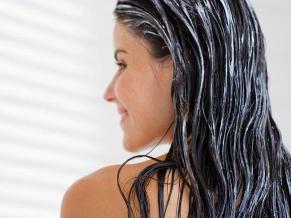 use óleos para o cabelo seco