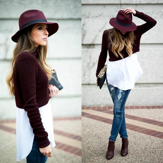 Moda inverno 2015: Look Fashion com Suéter Cropped
