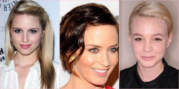 penteados para cabelo com franja