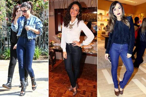 Como vestir a calça de cintura alta