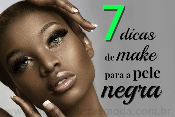 7 dicas de maquiagem para mulheres de pele negra