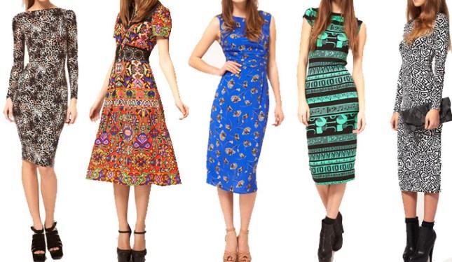 Como combinar acessórios com vestidos estampados