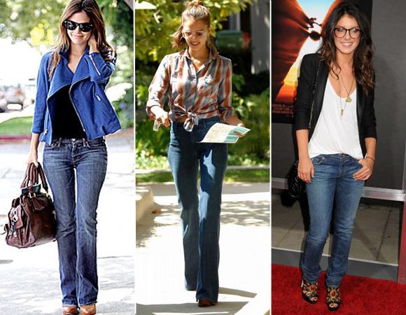 look de sapato com calça jeans