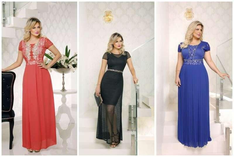 Modelo de vestidos de festa longos para mulheres evangélicas