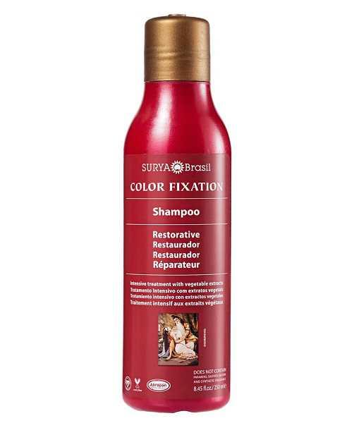 Shampoo para manter a cor dos cabelos coloridos
