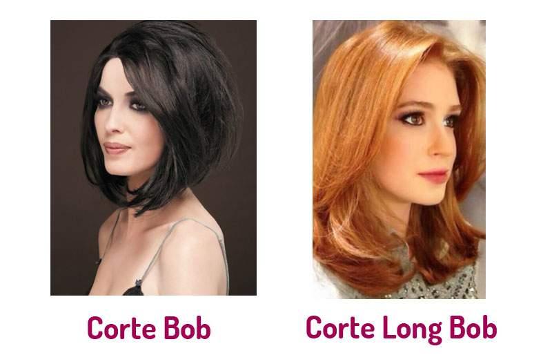 cortes de cabelo bob e long bob