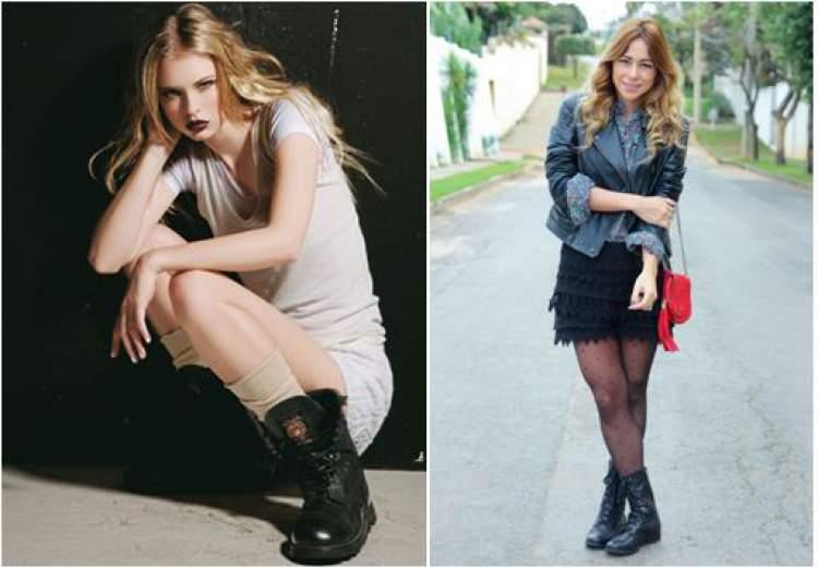 Super estiloso, o coturno é um calçado confortável e descolado
