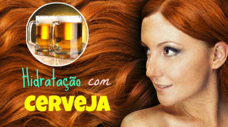 Saiba como usar a cerveja para hidratar o cabelo