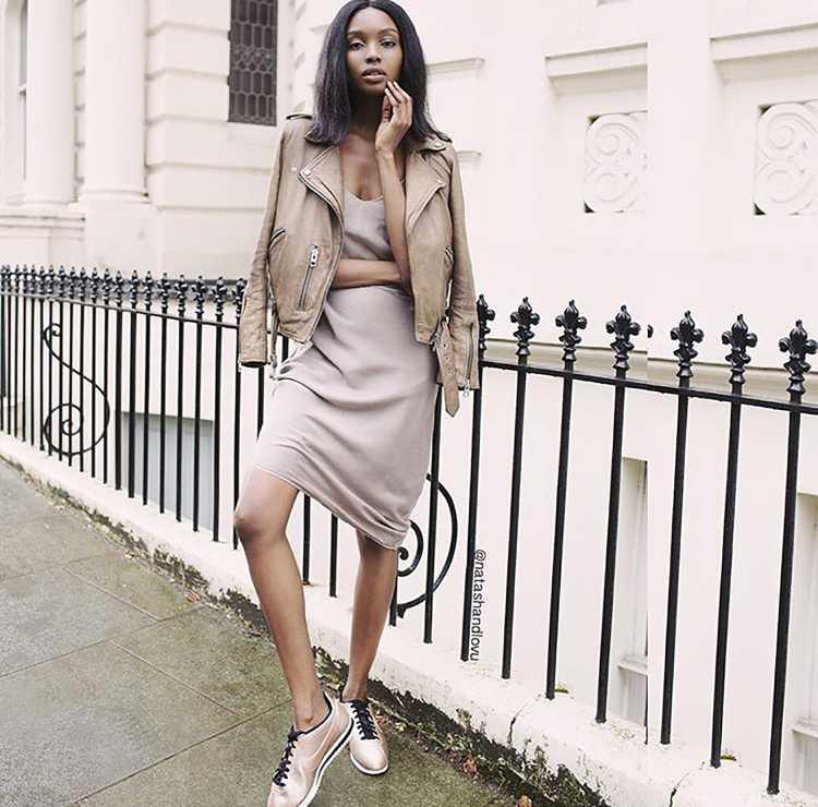 mulher usando a cor da moda inverno 2016
