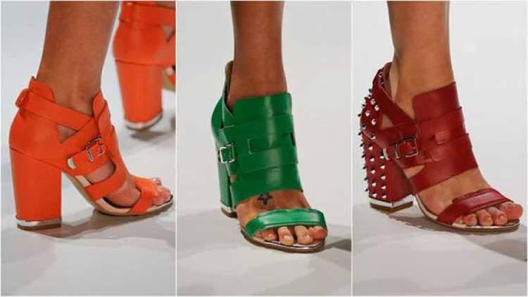 cuidados na hora de limpar as sandálias