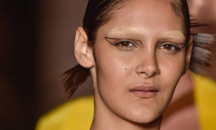 conceito de maquiagem para o verão 2017