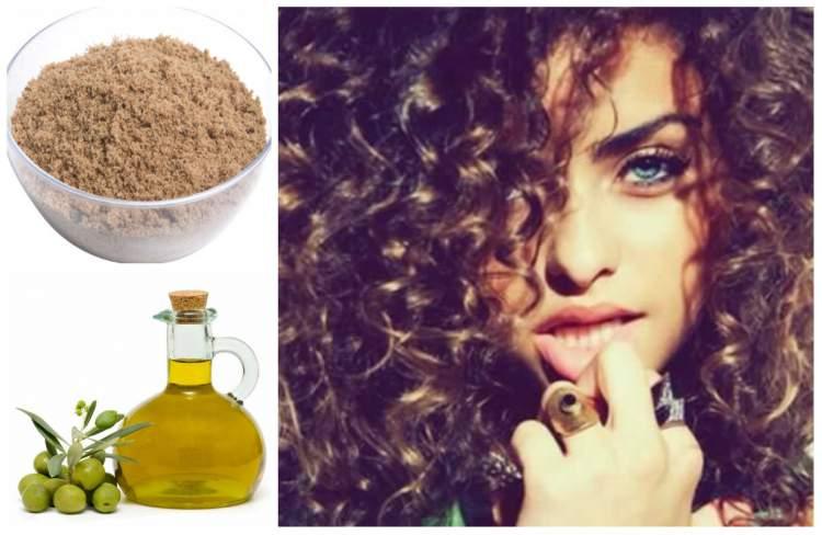 tratamento caseiro para cabelos crespos e cacheados com azeite de oliva e açucar mascavo