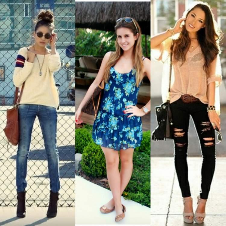 Com qual roupa eu vou ao shopping