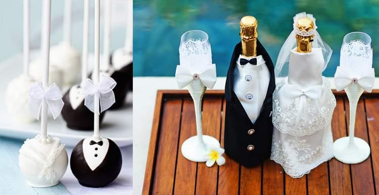 Decoração de Casamento Simples e Com Criatividade: Tema de Noivos