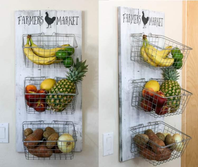 fruteiras de parede