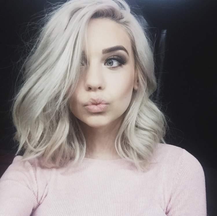 loiro branco é uma das tendências em cores de cabelo para 2017
