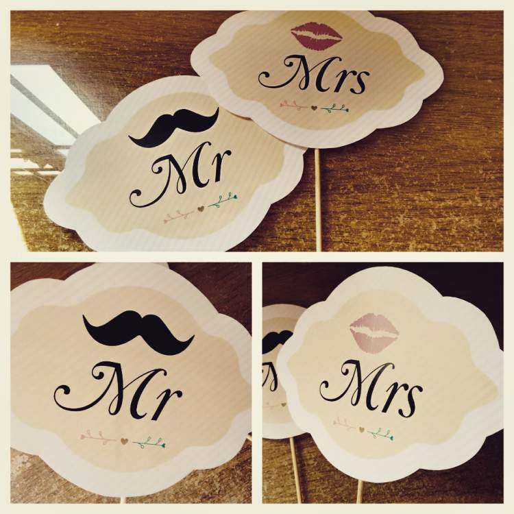 tags para decorar o casamento