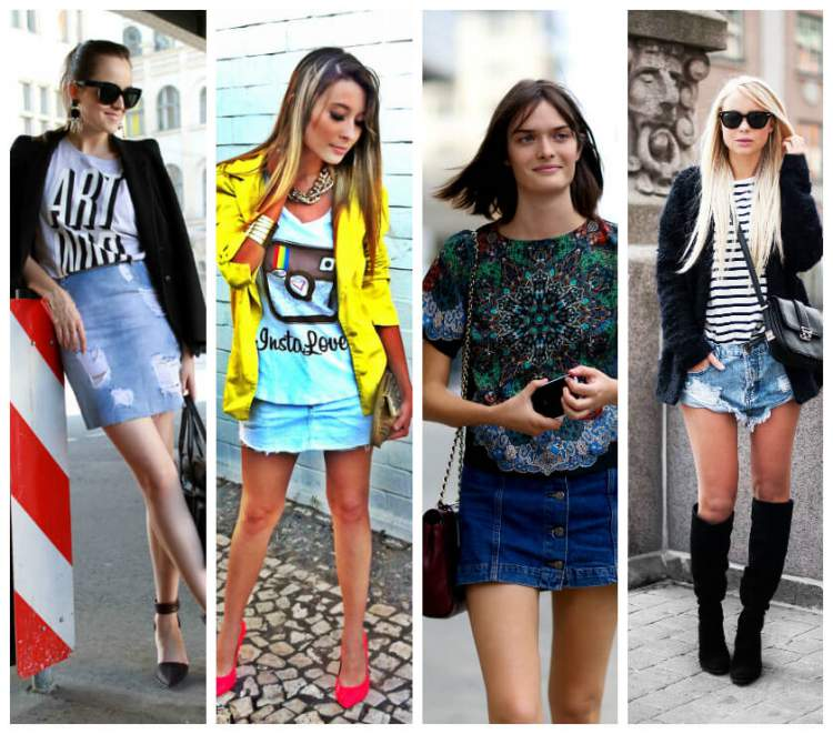 Looks com t-shirts