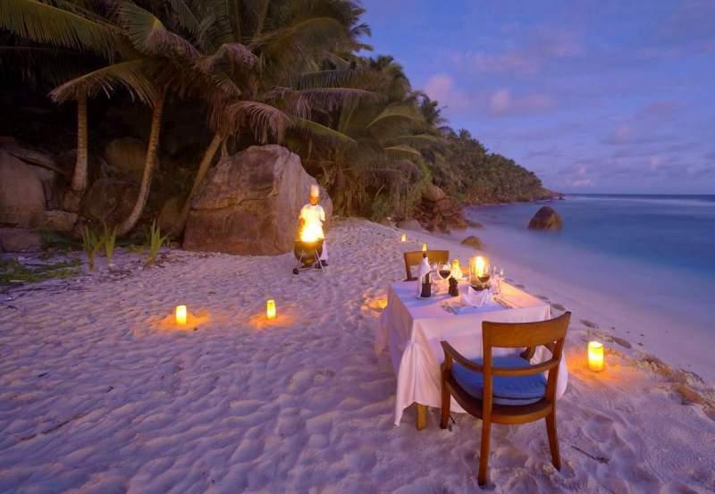 Jantar Romântico nas Ilhas Maldivas