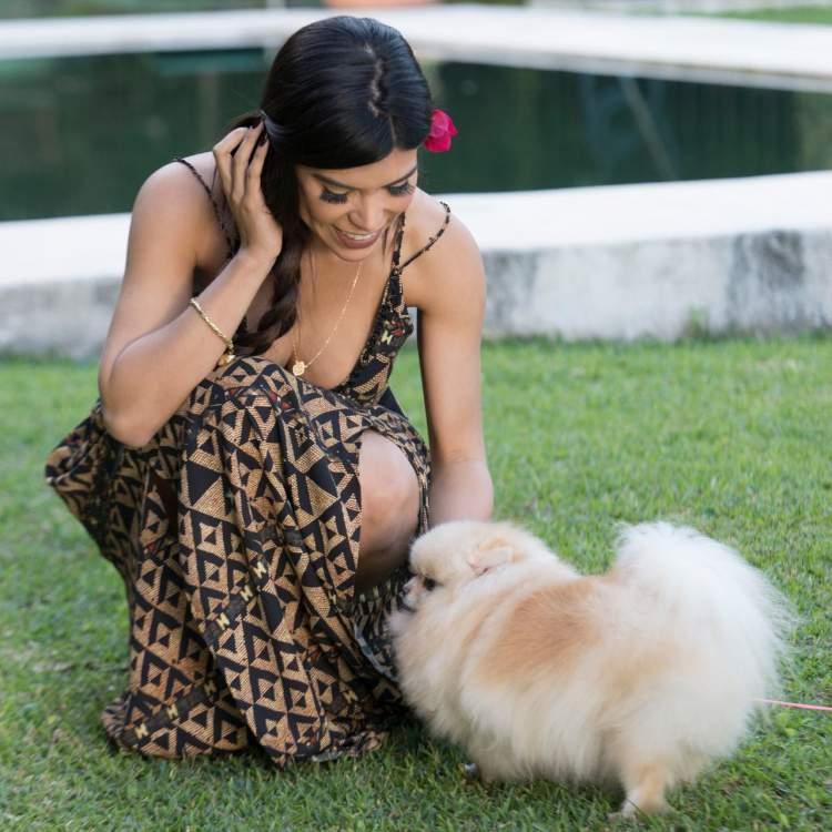 Priscila Rocha ama os animais