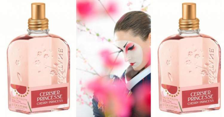 Cherry Princess L'Occitane é um dos melhores perfumes para mulheres românticas