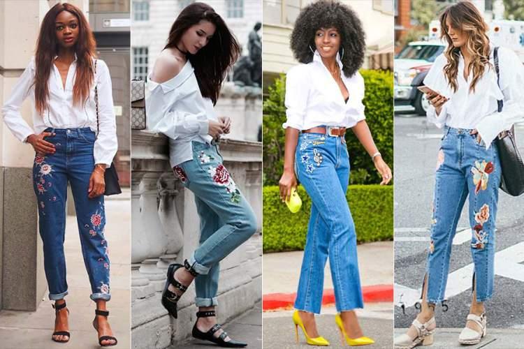 Jeans Bordado é uma das Peças-Chave do Verão 2017