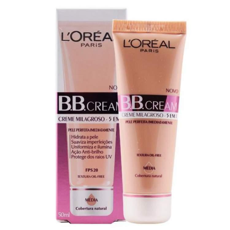 Base BB cream FPS 20, da L'Oréal