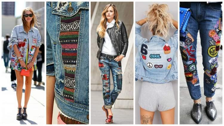 Jeans com Texturas entre as tendências da moda verão 2017