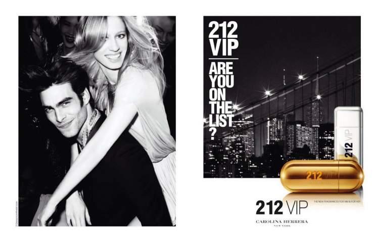 212 VIP Carolina Herrera é uma das fragrâncias mais vendidas do mundo