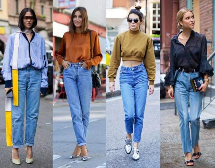 modelo diferente de calça jeans que será tendência da moda inverno 2017