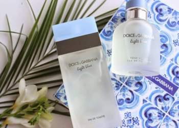Light Blue de Dolce & Gabbana é um dos perfumes mais vendidos no mundo