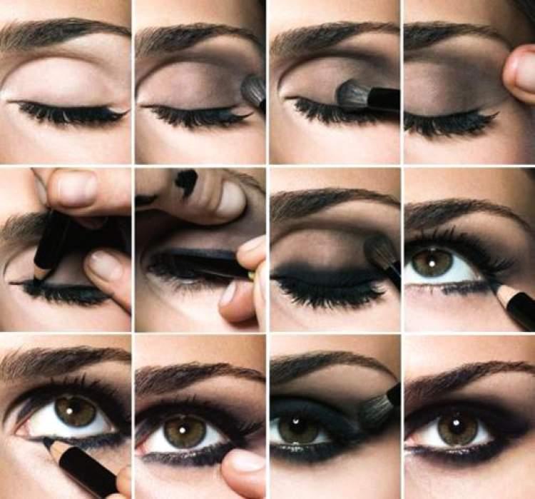 Veja como fazer olho preto esfumado passo a passo