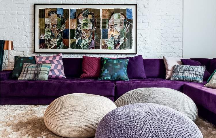 Dicas para decorar a sala com quadros na parede