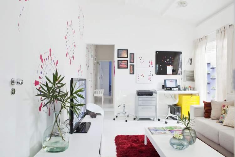 Evite muitos objetos na decoração da sala