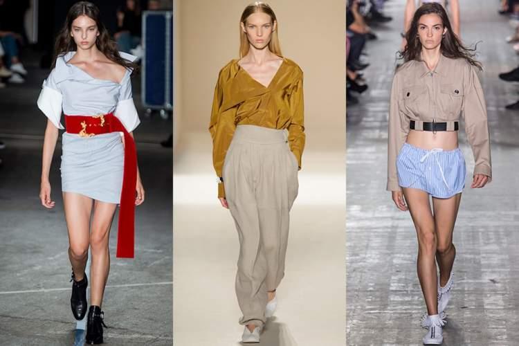 Looks que são tendências da moda primavera verão 2018