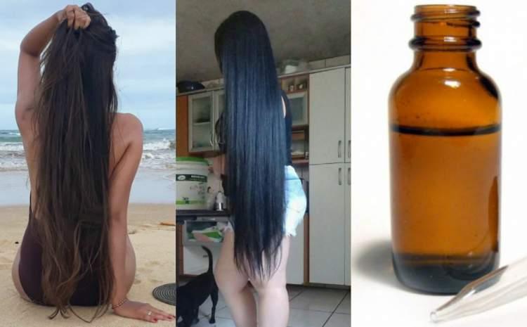 Faça seu cabelo crescer muito rápido com esse tônico capilar caseiro poderoso