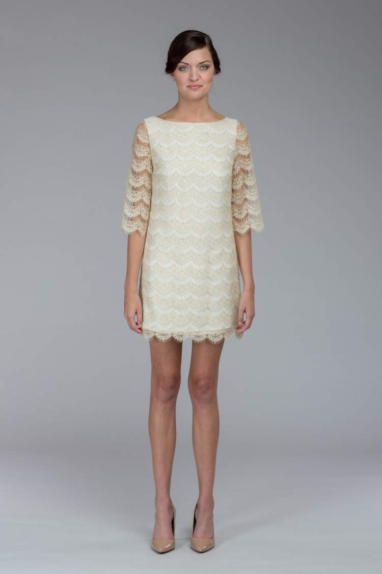 Vestido curto para noiva usar no casamento civil