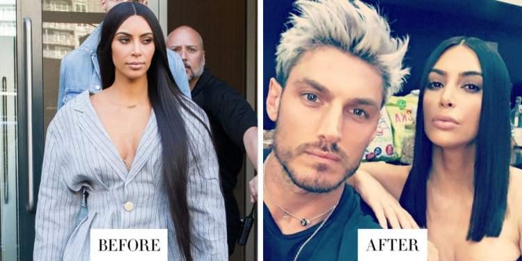 Transformação de Kim Kardashian