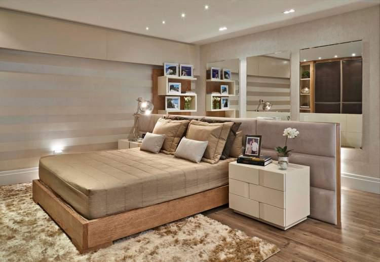 7 quartos que provam que a cama no precisa ficar