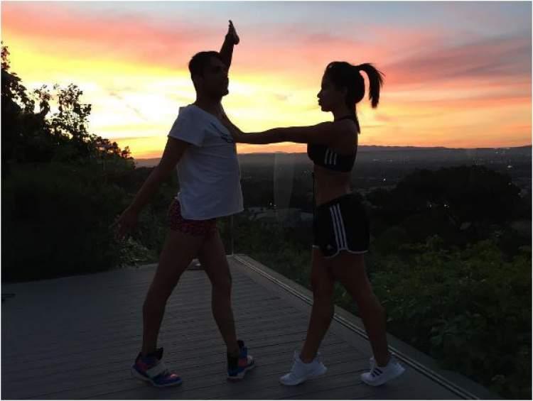 O treino de Anitta para ficar com um corpão