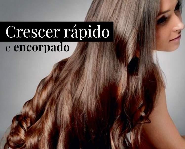 Dicas caseiras para fazer o cabelo crescer rápido e encorpado