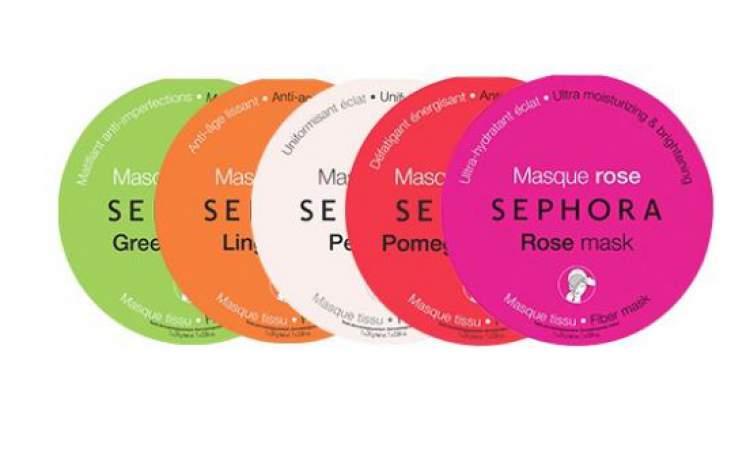 Máscara de papel da Sephora