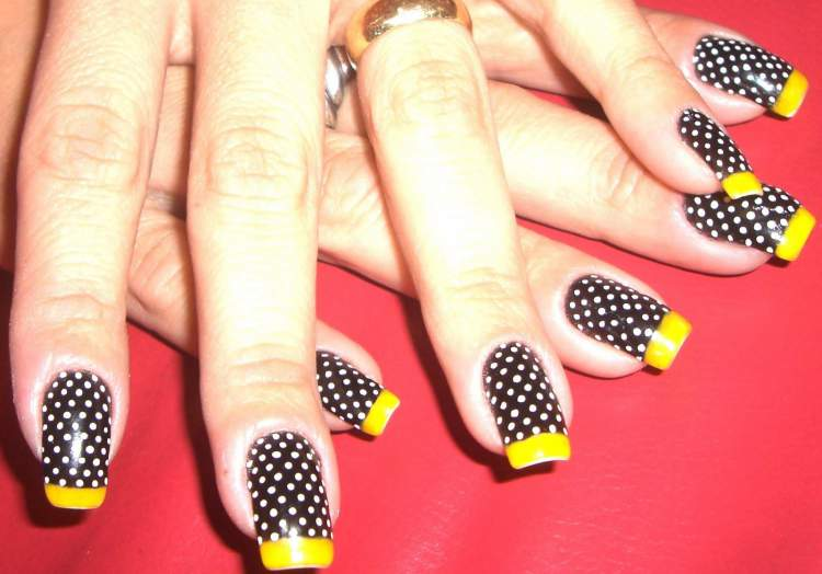 Foto de unhas decoradas