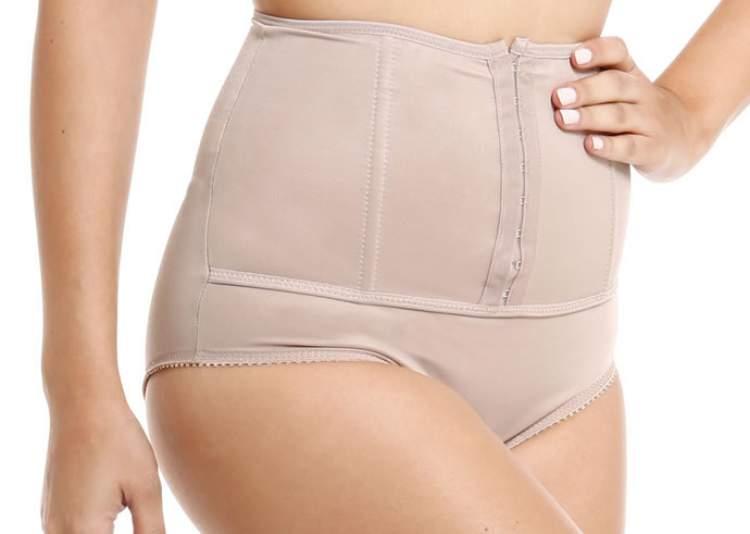 Use a cinta para perder barriga depois do parto